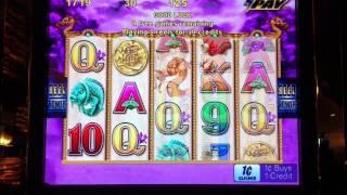 Choy Sun Returns Slot Free Spin Bonus Game ($0.30 Bet)