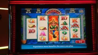 Jumpin' Jalapeños - Bonus - $2.50 Bet.  Weak bonus but I had a nice run on this machine.