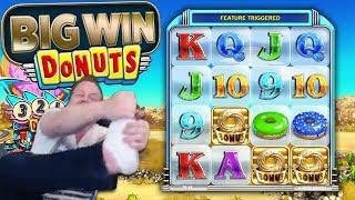Winning big time in Donuts!