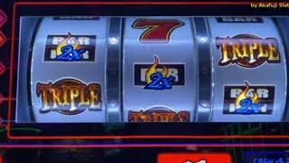 Dollar Slots - DIAMOND DUBLIN & FIRE TRIPLE - 5 Lines @ Barona Resort Casino & San Manuel Casino