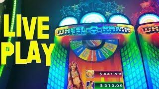 Wheel-O-Rama Live Play at max bet $6.00 IGT Slot Machine at The Cosmopolitan