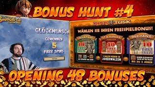 BONUS HUNT #4 - OPENING 48 SLOT BONUSES LIVE ON STREAM! - BIG WINS?