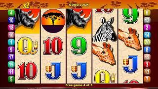 MR CASHMAN AFRICAN DUSK Video Slot Casino Game with a CASHMAN BONUS
