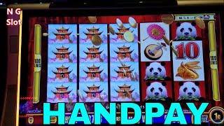 •Handpay Jackpot• Wild Panda Slot Machine Bonus MEGA BIG WIN • HAPPY 4th OF JULY