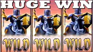 • BLACK KNIGHT • HUGE WIN • 3 LOCKED WILD REELS! •