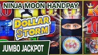 ⋆ Slots ⋆ Dollar Storm: Ninja Moon High-Limit JACKPOT ⋆ Slots ⋆⋆ Slots ⋆ NOBODY Can Defeat THE BIG JACKPOT Slots