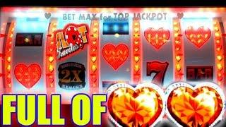 • HEARTS FOR LOVE, ALL WE NEED IS LOVE & A JACKPOT! | MAX BET SLOT PLAY