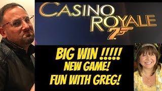BIG WIN! CASINO ROYALE WITH GREG OVER NYE!