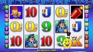 MR CASHMAN JAILBIRD Video Slot Casino Game with a CASHMAN ADDS CREDITS BONUS