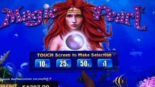 High Limit Slot• Magic Pearl Lightning Link @ San Manuel Casino カリフォルニア カジノ, スロット, 赤富士, アカフジ スロット