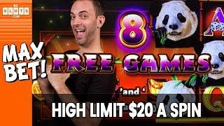 • • $20/SPIN on PANDA KING • High Limit #WINNING • BCSlots #AD