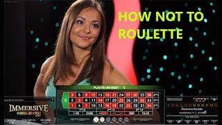 How Not to Roulette with Craig - Immersive & Auto Roulette High Stakes • Craig's Slot Sessions