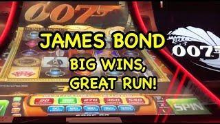 James Bond Casino Royale Slot - Great Run!
