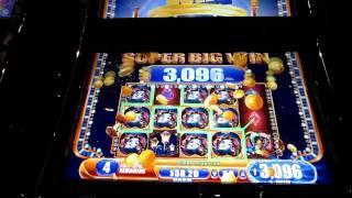 WMS - Cirque Du Masquerade!  Super Big Win! 2-cent!