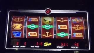 QUICK HITS MAX BET ~ 24 Karat Gold slot machine ~ 2 BONUSES ~ BIG WINS