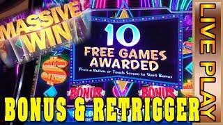 IGT'S STAR RISE - MASSIVE WIN BONUS! w/ SLOT TRAVELER - Live Casino Play