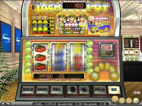 Jackpot 6000 - Máquinas Tragaperras