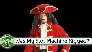 Captain Cutthroat slot machine, Rigged Bonus??