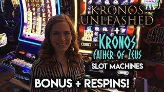 Kronos • UNLEASHED • and Kronos Father of Zeus • Bonus • Respins!