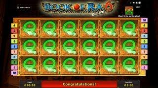 • BIG WIN on BOOK OF RA 6 DELUXE !!! •casino slots + more
