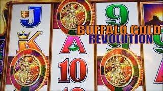 •NEW BUFFALO GOLD !!•BUFFALO GOLD REVOLUTION Slot machine (Aristocrat)  Free Play Live @ San Manuel