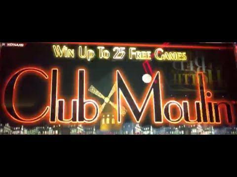 Club Moulin *DOUBLE* Jackpot HANDPAY!!