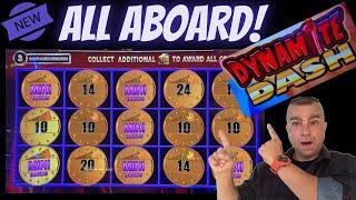 ⋆ Slots ⋆All Aboard Dynamite Dash Jackpot!⋆ Slots ⋆