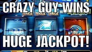 •Crazy Guy Wins Huge U-Spin Jackpot Video•Slot Machine Keeps Winning/Paying Bonus•NOT Slot Cracker•