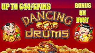⋆ Slots ⋆️HIGH LIMIT Dancing Drums UP TO $44 SPINS ⋆ Slots ⋆️Slot Machine Hard Rock Tampa Casino