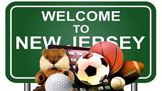 Sports Betting's Welcome to New Jersey!