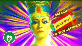 • Cleopatra Fort Knox slot machine, 2 sessions