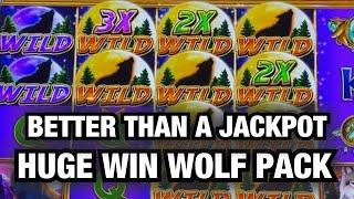 I ONLY PUT $100 IN NEW WOLF PACK SLOT AND CASHED OUT $$$$! RIVER SPIRIT CASINO TULSA!