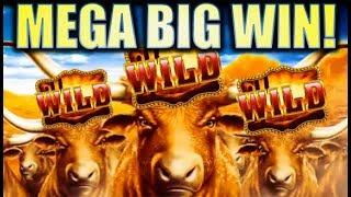 •MEGA BIG WIN! LONGHORN• W/ CUTEST BIG WIN CELEBRATION ON YOUTUBE!! Slot Machine Bonus • mail4albert