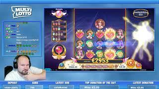 Big Bet!! Moon Princess Surprises With A Big Win!!