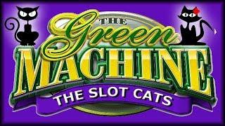 Green Machine • Triple Fortune Dragon • The Slot Cats •