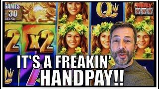 MY FINAL JACKPOT HANDPAY OF THE YEAR! WILD WILD PEARL SLOT MACHINE of course!