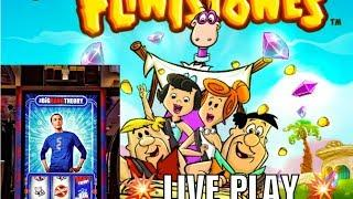 •Big Bang Theory/Flintstones Slot Machines•Live Slot Play ARIA•