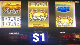 JACKPOT - HIGH LIMIT - Triple Gems Slot Max Bet $27 & LION'S SHARE Slot 9Lines Max Bet $9, Pechanga