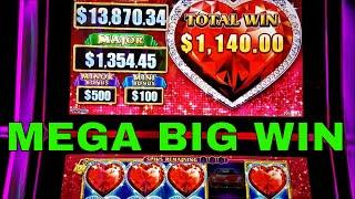 Lock It Link Slot Machine Bonus •MASSIVE WIN•,Better Than •HANDPAY JACKPOT• $1500 Live Play