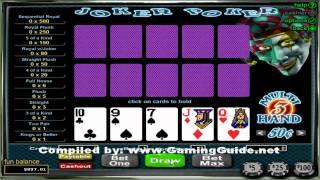 Joker Poker 3 Hand Video Poker