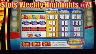 Slots Weekly Highlights #74 For you who are busy• First Attempt The Price is Right Max Bet $15