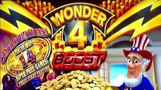 WONDER 4 BOOST•SUPER FREE GAMES•FIRST ATTEMPT 2019•CASINO GAMBLING