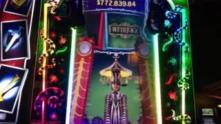 Beetlejuice Slot Machine ~ Picking Bonus ~ BIG WIN!! ~ Kewadin Casino • DJ BIZICK'S SLOT CHANNEL