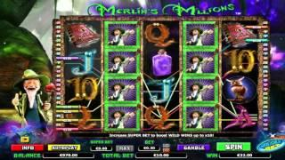 Merlin's Millions Superbet• free slots machine by NextGen Gaming preview at Slotozilla.com