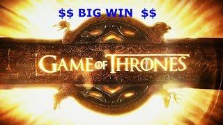 BIG WIN DRAGON WILDS $5 bet Game of Thrones Slot Machine Feature