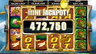 SACRED GUARDIANS Video Slot Casino Game with a JACKPOT BONUS