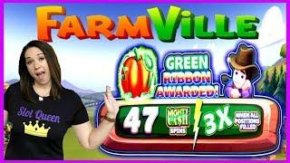 • HUGE WIN ON FARMVILLE • •SLOT QUEEN'S FEELING REBELLIOUS •