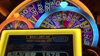Wheel Of Fortune Triple Bonus Round At Max Bet