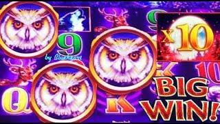 • ONE LAST TRY FOR JACKPOT! •  TIMBERWOLF DELUXE slot machine BONUS WINS!