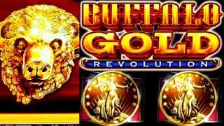 ⋆ Slots ⋆Max Bet! BUFFALO GOLD REVOLUTION Free Spins 15 Gold Buffalo Heads Please⋆ Slots ⋆